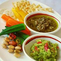 野菜のディップ&ソースの写真