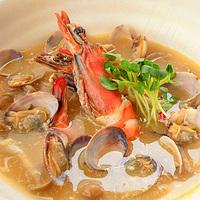 トムヤムクン風スープの写真