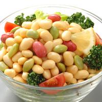 豆サラダの写真
