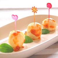 里芋のチーズ焼きの写真