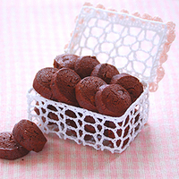 チョコレート&ジンジャークッキーの写真