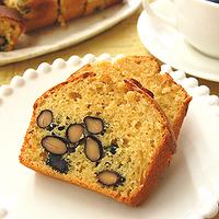 黒豆きなこケーキの写真