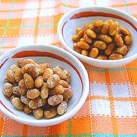 きなこ大豆&カラメル大豆の写真