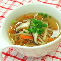根菜のあったかスープの写真