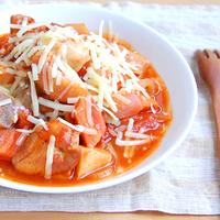 根菜のトマト煮込みの写真