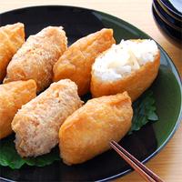 れんこんいなり寿司の写真