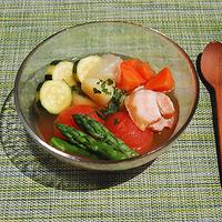 夏野菜のポトフの写真